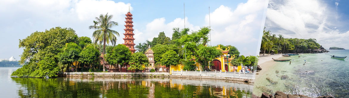 Vietnam: Hanoi and Phu Quoc, tailor-made including beach holiday
