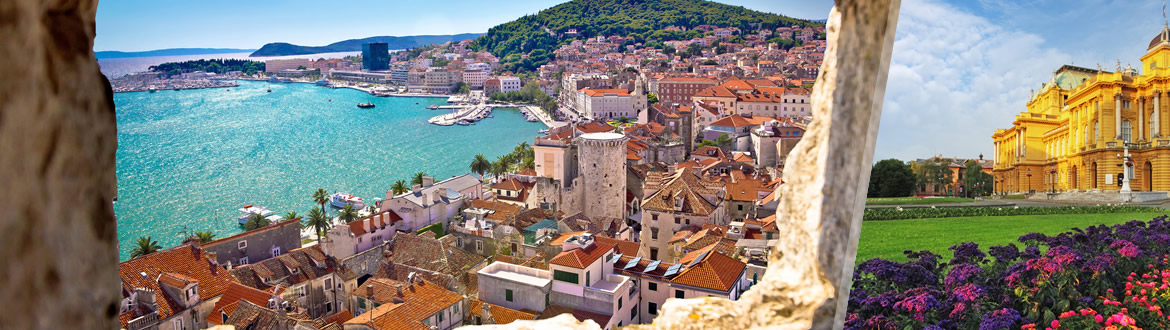 Croatia: Zagreb and Split, tailor-made, fully flexible travel